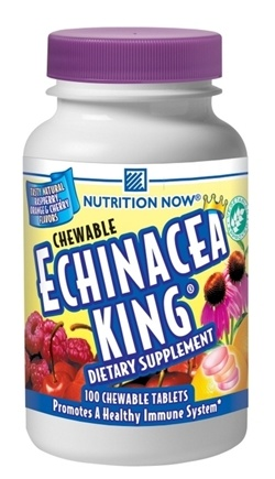 DROPPED: Nutrition Now - Echinacea King Mixed Fruit - 100 Chewable Tablets