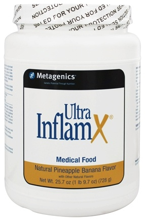 DROPPED: Metagenics - UltraInflamX Medical Food Pineapple Banana - 25.7 oz.
