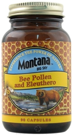 DROPPED: Montana Naturals - Bee Pollen with Eluthero - 90 Capsules