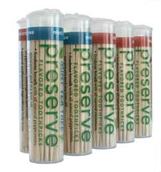 DROPPED: Preserve - Mint Tea Tree Toothpicks - 24 Pack(s)