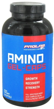 DROPPED: Prolab Nutrition - Amino Gelcaps - 200 Softgels CLEARANCE PRICED