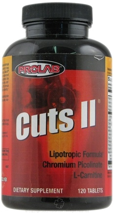 DROPPED: Prolab Nutrition - Cuts II - 120 Tablets