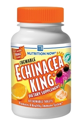 DROPPED: Nutrition Now - Chewable Echinacea King Orange - 60 Chewable Tablets