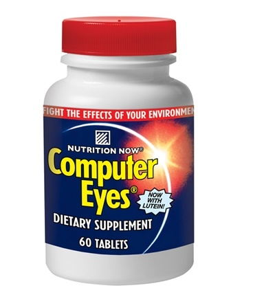 DROPPED: Nutrition Now - Computer Eyes - 60 Tablets