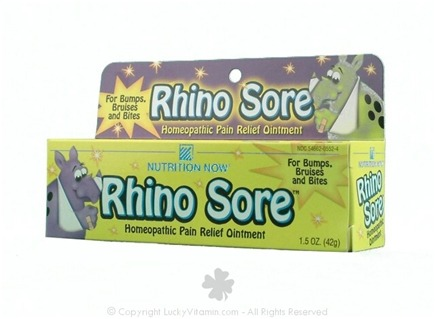 Zoom View - Rhino Sore Homepathic Pain Relief Ointment