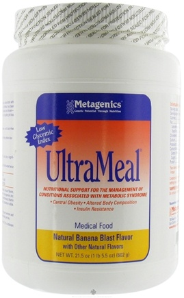 DROPPED: Metagenics - UltraMeal Medical Food Banana Blast - 21.5 oz.