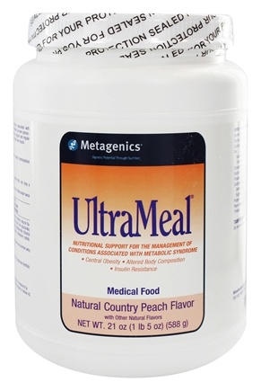 DROPPED: Metagenics - UltraMeal Medical Food Country Peach - 21 oz.