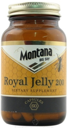 DROPPED: Montana Naturals - Royal Jelly 200 mg. - 60 Capsules