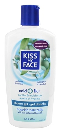 Buy Kiss My Face Bath Amp Shower Gel Cold Amp Flu Eucalyptus