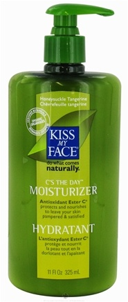 DROPPED: Kiss My Face - C's The Day Moisturizer With Ester C Honeysuckle Tangerine - 11 oz.