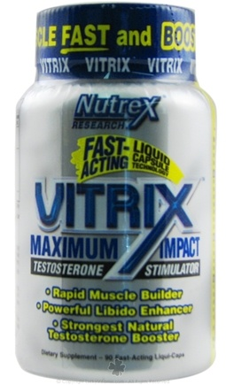 DROPPED: Nutrex - Vitrix Maximum Impact Testosterone Stimulator - 90 Capsules