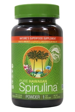 Zoom View - Pure Hawaiian Spirulina Pacifica Powder