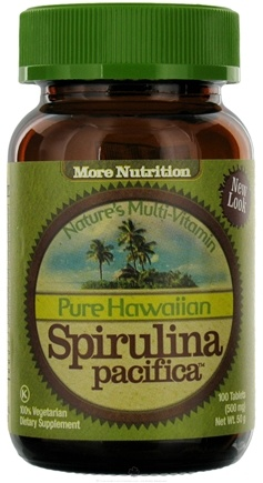 DROPPED: Nutrex Hawaii - Pure Hawaiian Spirulina Pacifica 500 mg. - 100 Tablets CLEARANCED PRICED