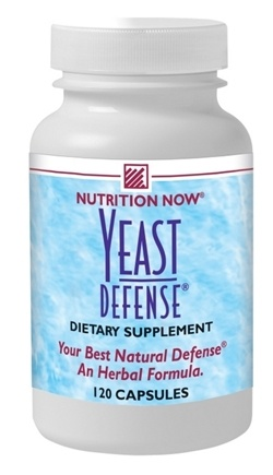 DROPPED: Nutrition Now - Yeast Defense - 120 Capsules