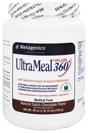 DROPPED: Metagenics - UltraMeal Plus 360 Medical Food Dutch Chocolate - 26 oz.