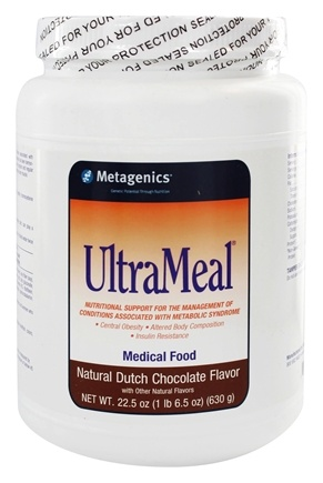 DROPPED: Metagenics - UltraMeal Plus Medical Food Natural Dutch Chocolate - 24 oz. With Beta-Sitosterol And other Plant Sterols