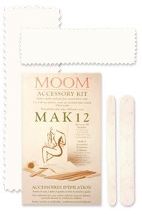 DROPPED: Moom - Moom Hair Removal Fabric Strips - 12 Strip(s)