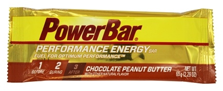 PowerBar - Performance Energy Bar Chocolate Peanut Butter - 2.29 oz.