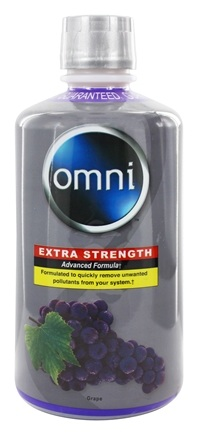 Purified Brand - Omni Cleansing Liquid Extra Strength Grape Flavor - 32 oz.