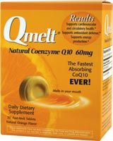 DROPPED: Qmelt - Health Yourself Qmelt Natural Coenzyme Q1Fast Melt0 60 mg. - 30 Tablets