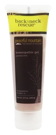 DROPPED: Peaceful Mountain - Back & Neck Rescue Gel - 3.5 oz.