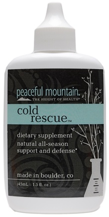 DROPPED: Peaceful Mountain - Cold Rescue - 1.5 oz.