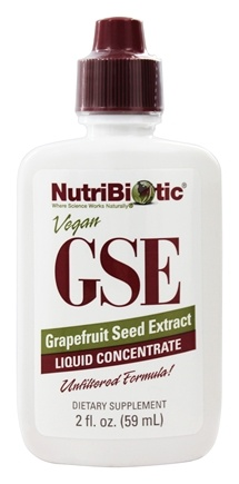 Nutribiotic - GSE - Grapefruit Seed Extract Liquid Concentrate - 2 oz.