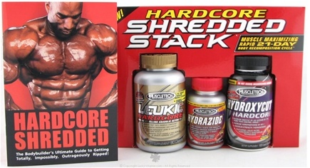 Zoom View - Hardcore Shredded Stack Kit