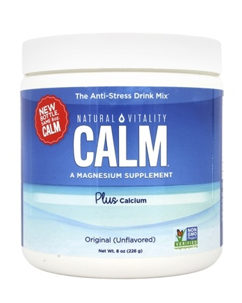 Zoom View - Natural Calm Plus Calcium