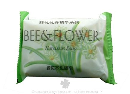 DROPPED: Bee & Flower Soap - Bar Soap Narcissus - 2.7 oz.