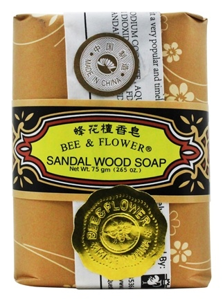 Bee & Flower Soap - Bar Soap Sandalwood - 2.7 oz.