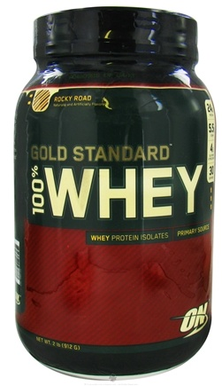 DROPPED: Optimum Nutrition - 100% Whey Gold Standard Protein Rocky Road - 2 lbs. CLEARANCE PRICED