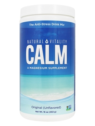 Natural Vitality - Natural Calm Anti-Stress Drink Unflavored - 16 oz.