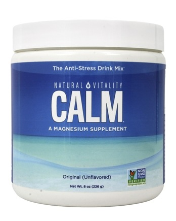 Natural Vitality - Natural Calm Anti-Stress Drink Unflavored - 8 oz.