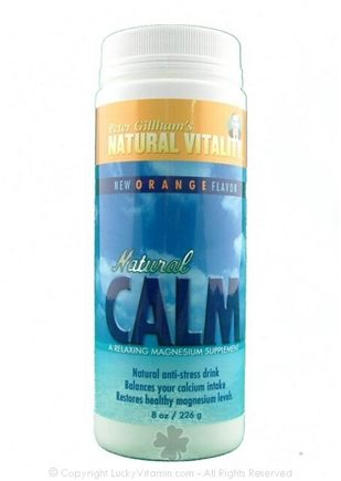 DROPPED: Peter Gillham's Natural Vitality - Natural Calm Orange Flavor - 4 oz.