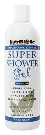 Zoom View - Super Shower Gel Non-Soap Shampoo with GSE