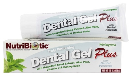 Nutribiotic - Dental Gel Plus Truly Whitening Wintergreen Flavor - 4.5 oz.