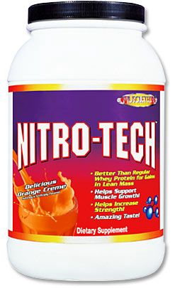 DROPPED: Muscletech Products - Nitro-Tech Whey Protein Delicious Orange Creme - 2 lbs.