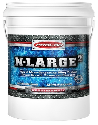 DROPPED: Prolab Nutrition - N Large II Strawberry - 10 lbs. CLEARANCE PRICED