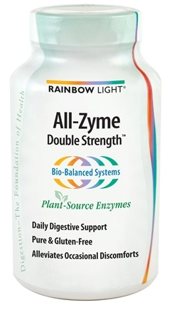 DROPPED: Rainbow Light - All-Zyme Double Strength - 90 Vegetarian Capsules CLEARANCE PRICED