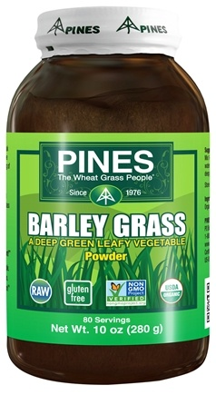 DROPPED: Pines - Barley Grass Powder 100% Pure - 10 oz.
