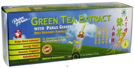 Zoom View - Green Tea Extract With Panax Ginseng Diet Support Formula