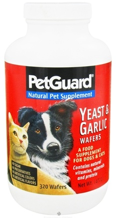 DROPPED: Pet Guard - Yeast & Garlic Wafers For Cats & Dogs - 320 Wafers