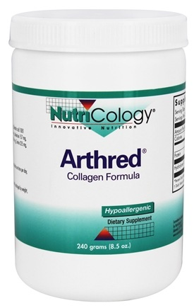 Nutricology - Arthred Collagen Powder Formula - 240 Grams