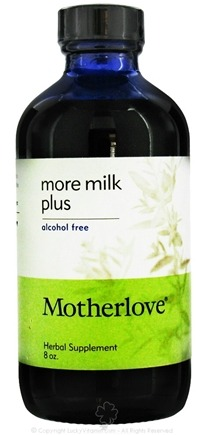 DROPPED: Motherlove - More Milk Plus Alcohol Free - 8 oz.