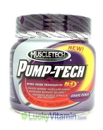 DROPPED: Muscletech Products - Pump-Tech