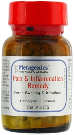 DROPPED: Metagenics - Pain & Inflammation Remedy - 250 Tablets Formerly HP1
