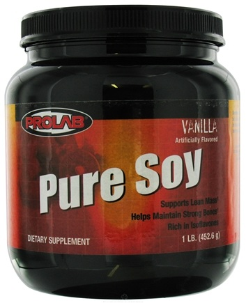 DROPPED: Prolab Nutrition - Pure Soy - 1 lb. CLEARANCE PRICED