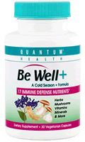 DROPPED: Quantum Health - Be Well Cold Season Formula - 30 Capsules