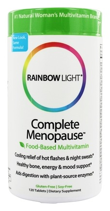 Rainbow Light - Complete Menopause Multivitamin - 120 Tablets